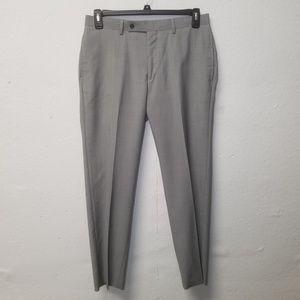 CALVIN KLEIN Silver Gray Pants 32 x 30